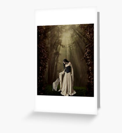 Out of the Shadows... Greeting Card
