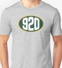 Green Bay 920 Area Code Unisex T-Shirt