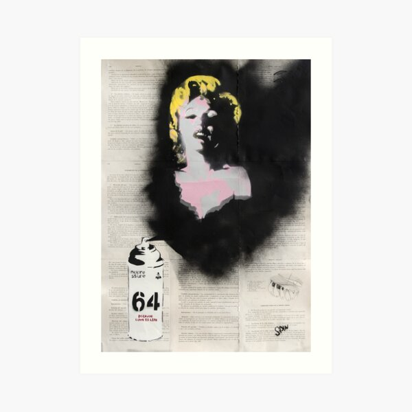 Everybody loves Norma Art Print