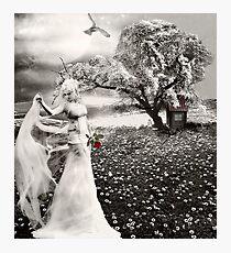 The Bride... Photographic Print