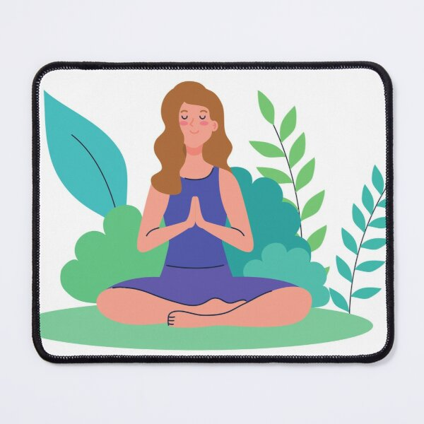 Breathe in Mouse Pad