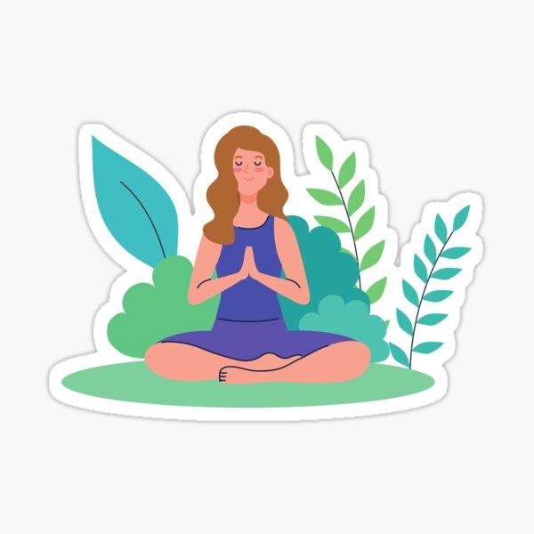 Breathe in Sticker