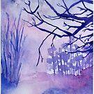 « Forêt d'hiver » par studiocyanotype