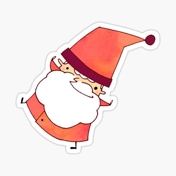 Happy Little Santa (#06) Sticker