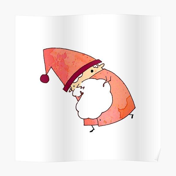 Happy Little Santa (#09) Poster