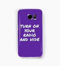 Radio Samsung Galaxy Case/Skin