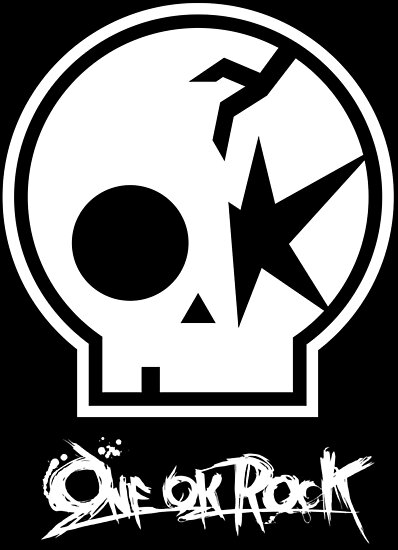 One Ok Rock Logo Blanco Posters By Manu17 Redbubble