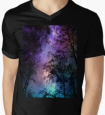 Night sky 1 Men's V-Neck T-Shirt