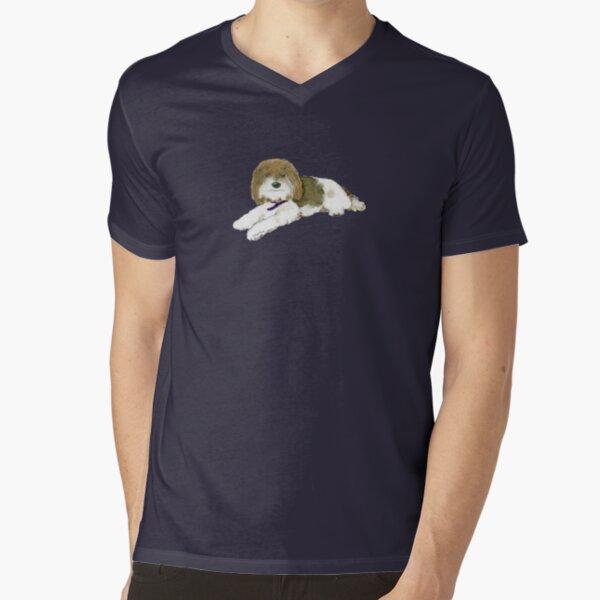 """Wonder Dog """"Blossom"""" V-Neck T-Shirt"""