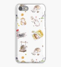 Fluffy Hamster iPhone Case/Skin