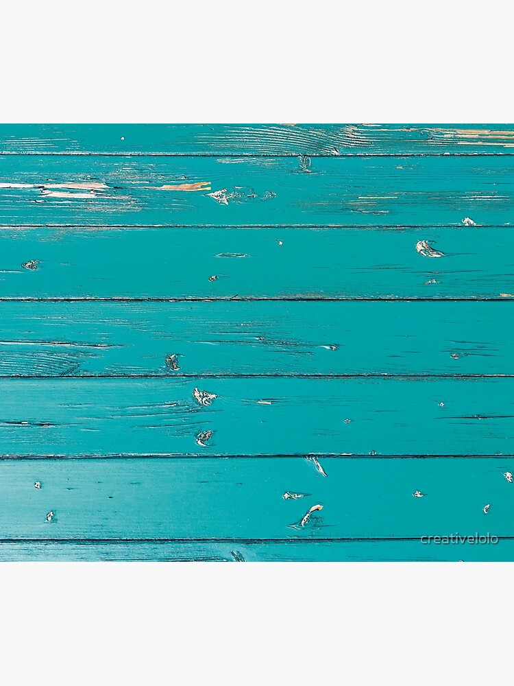 Old turquoise wood by creativelolo