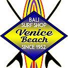 Surfer VENICE BEACH California Surfing Surfboard Ocean Beach Vacation 2 by MyHandmadeSigns
