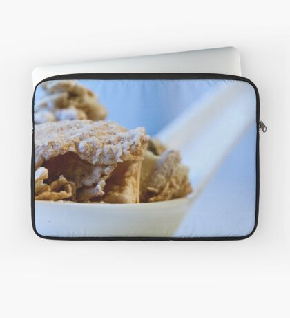 Cereal in a spoon Laptop Sleeve