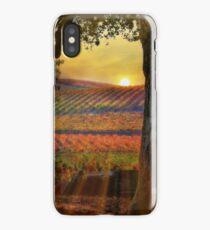 Radiant Vineyard iPhone Case