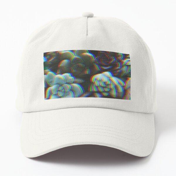 Trippy Succulent Dad Hat
