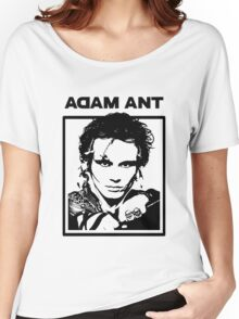 Adam Ant 1980s Loose Fit Tee for Women