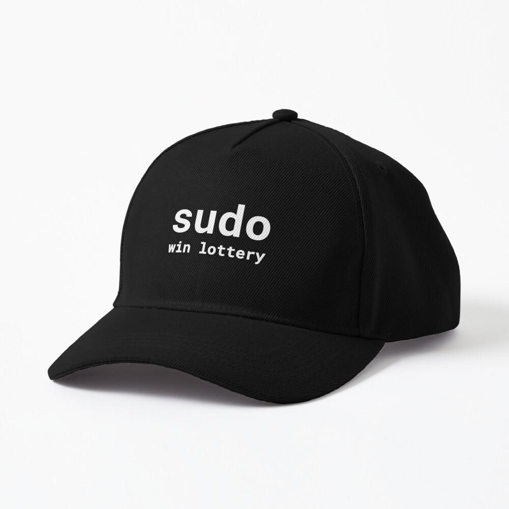 Sudo win lottery Cap