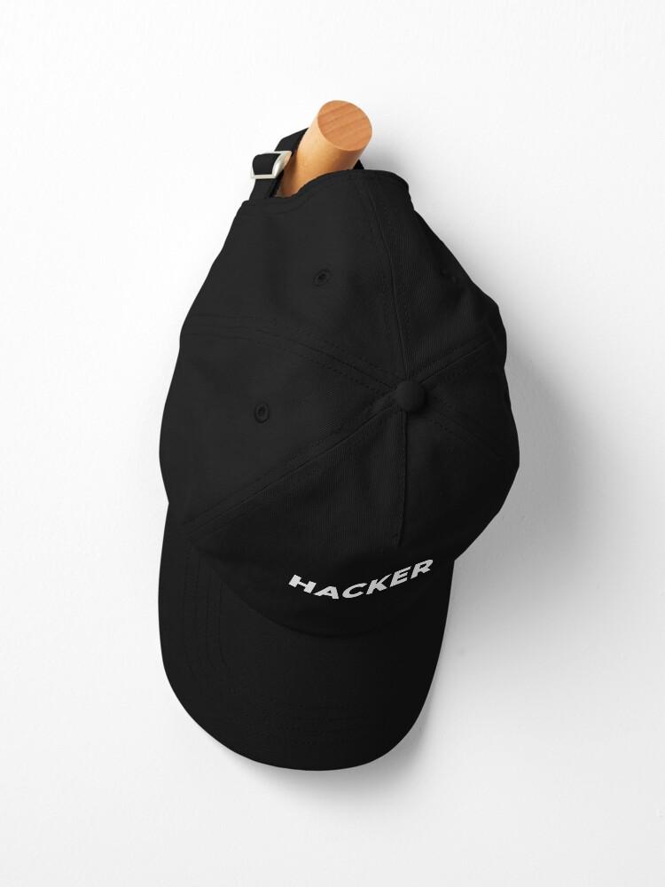 Alternate view of Hacker Cap