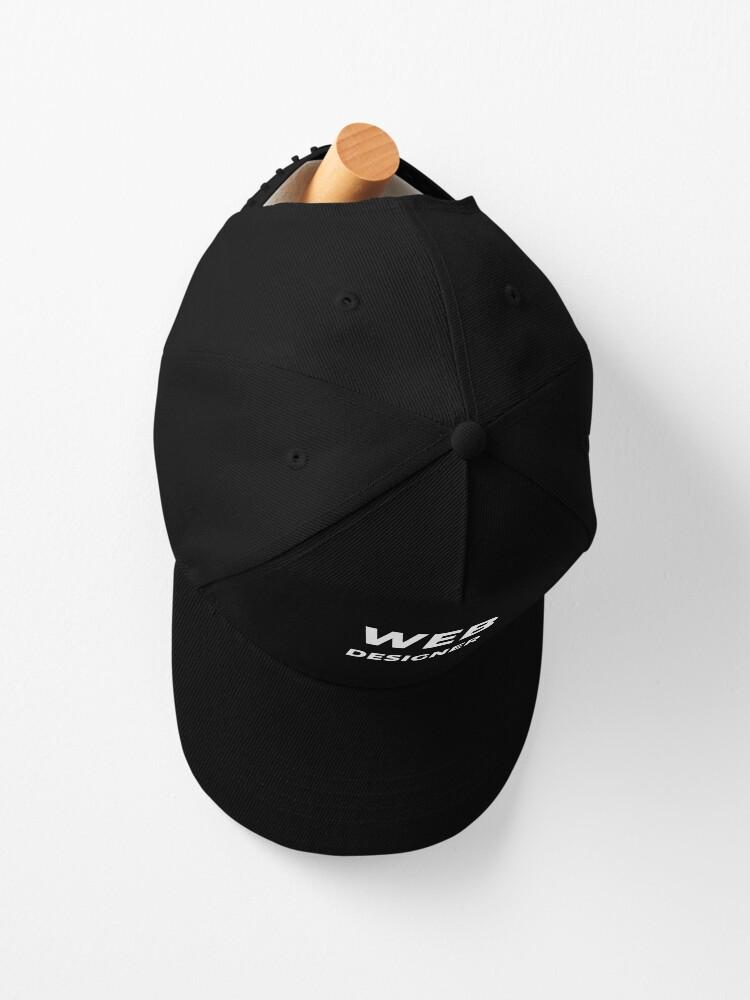 Alternate view of Web Designer Cap