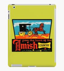Amish Country Vintage Travel Decal iPad Case/Skin