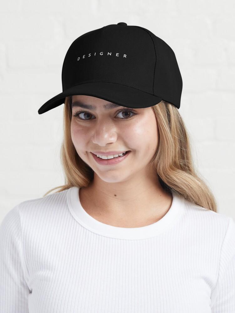 Alternate view of Designer (minimal) Cap