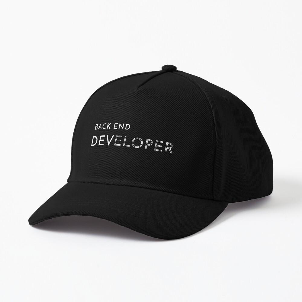 Back End Developer Cap