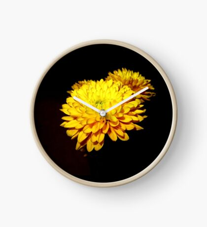 In Full Bloom Clock