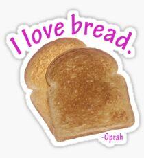 I love bread  Sticker