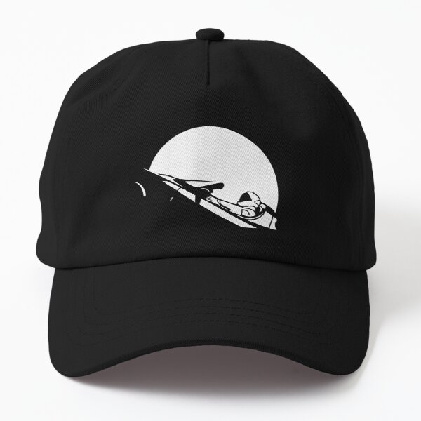 Starman In Space Tesla Roadster (Simplified) Dad Hat