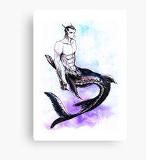 Kirk Fish Canvas Print