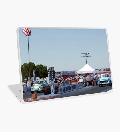 """Old School""; Fomoso Raceway, McFarland, CA Summit Series Racing Laptop Skin"