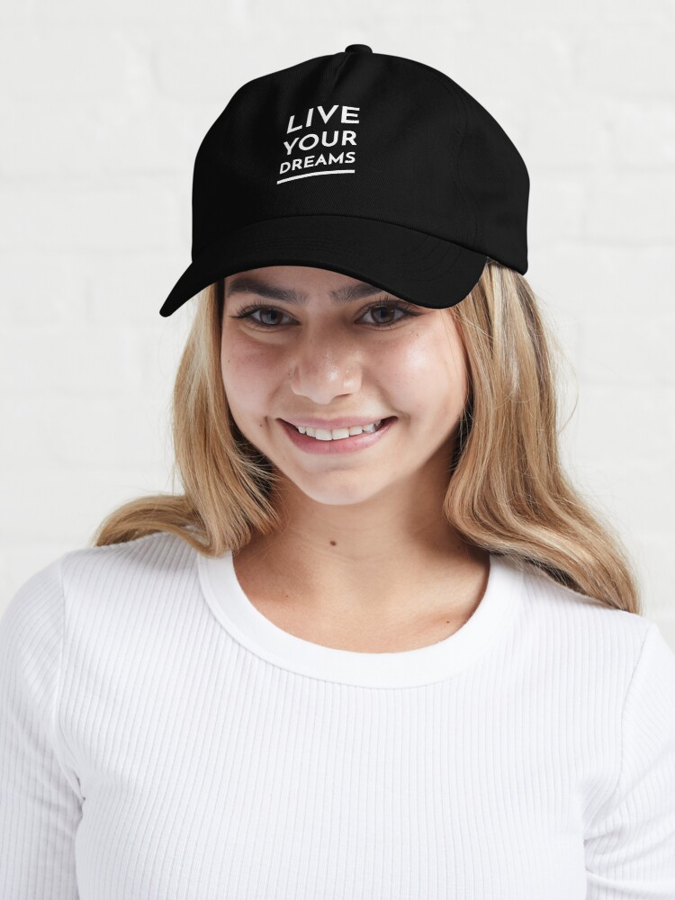 Alternate view of Live Your Dreams Cap