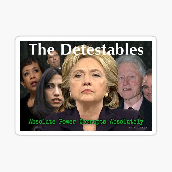 The Detestables Sticker