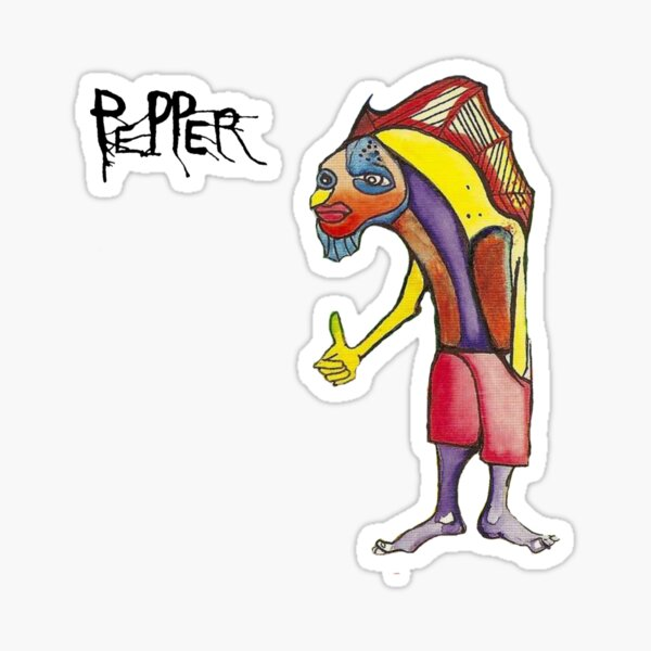 Pepper (band) - Kona Town Sticker