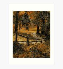 Copper Field Art Print