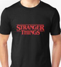 Stranger Things Merchandise T-Shirt