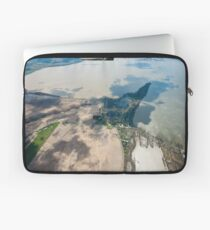 Record Flooding Laptop Sleeve