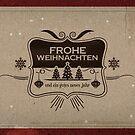 Retro Weihnachten #5 von pixelcafe