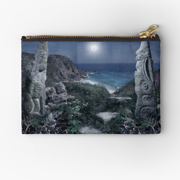 Magical Cornwall Zipper Pouch