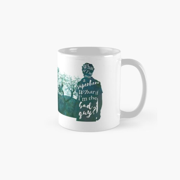 What if I'm the bad guy Taza clásica