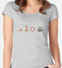 Wizard Of Oz (may contain spoilers) Women's Fitted Scoop T-Shirt