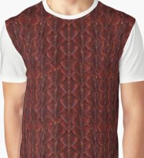 Red Dragonscales Graphic T-Shirt