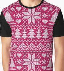 Scandinavian pattern Graphic T-Shirt
