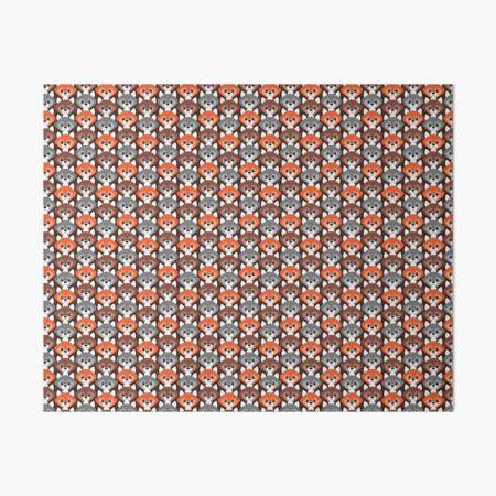 Endless Foxes! Art Board Print