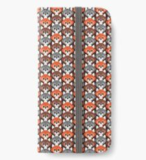 Endless Foxes! iPhone Wallet/Case/Skin