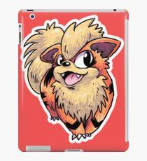 Flame Puppy Woof iPad Case/Skin