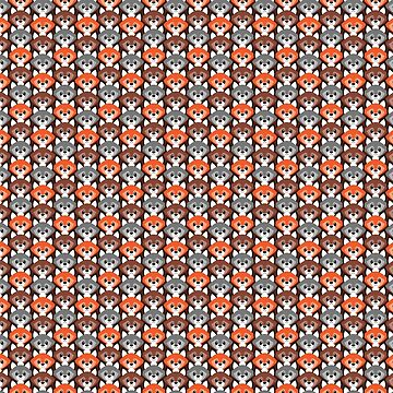 Endless Foxes! by CGafford