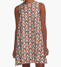 Endless Foxes! A-Line Dress