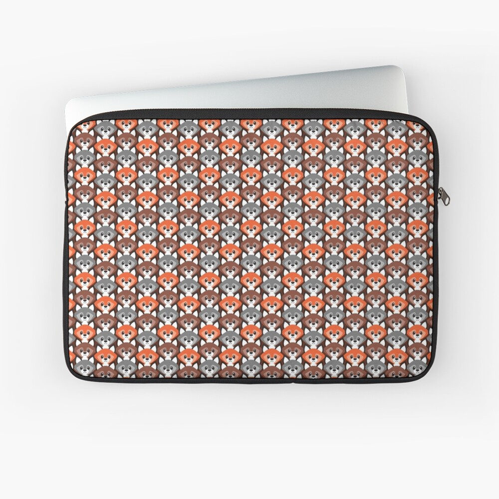 Endless Foxes! Laptop Sleeve