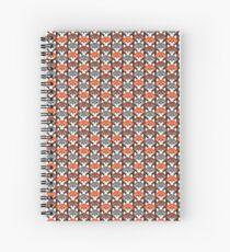 Endless Foxes! Spiral Notebook